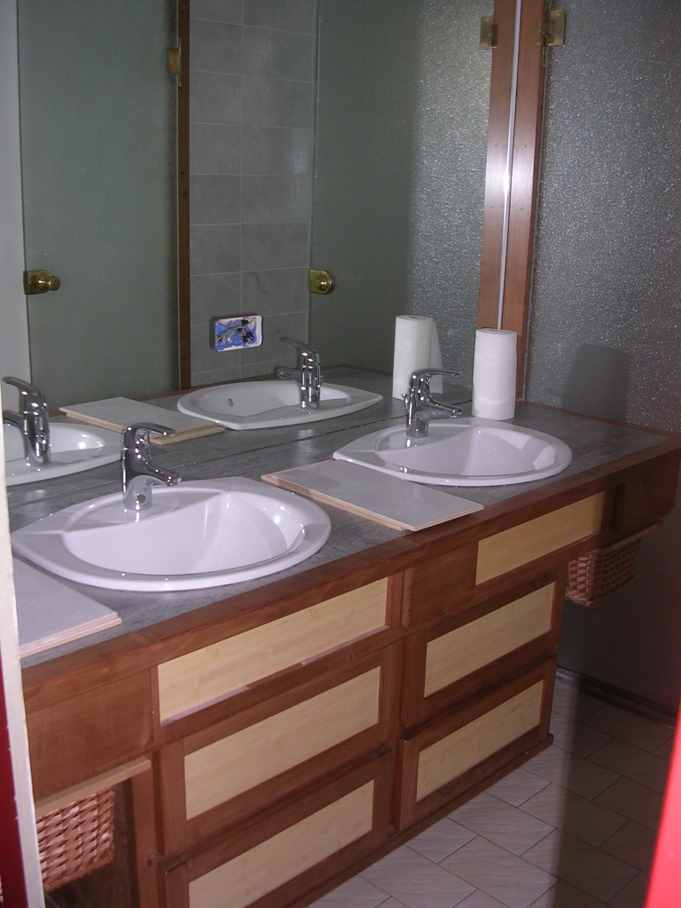 Agencement d'une salle de bains