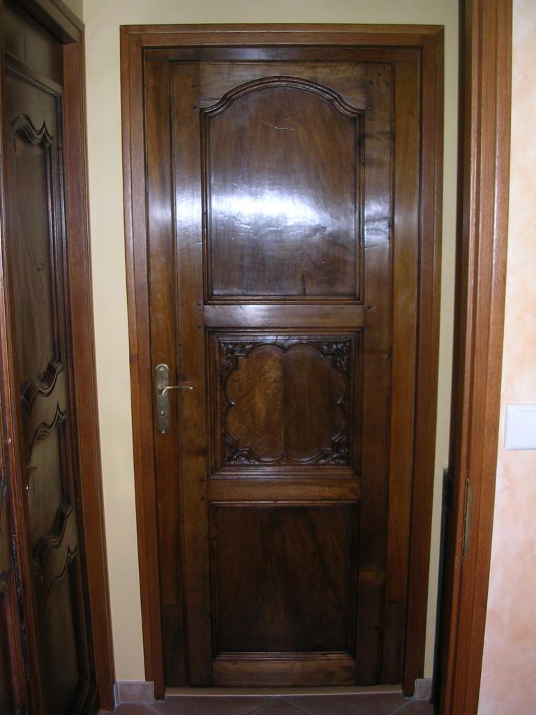 Habillage d'une porte intérieure