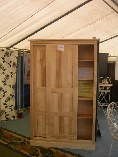 Meuble 2 portes en frêne