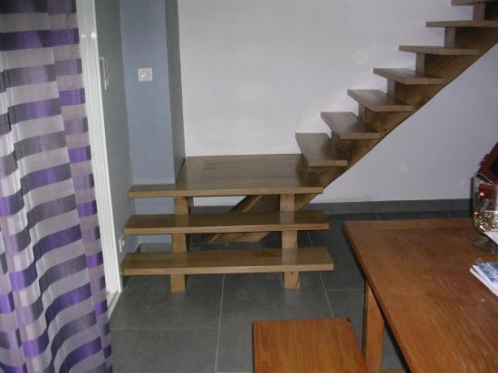 Réalisation d'un escalier intérieur