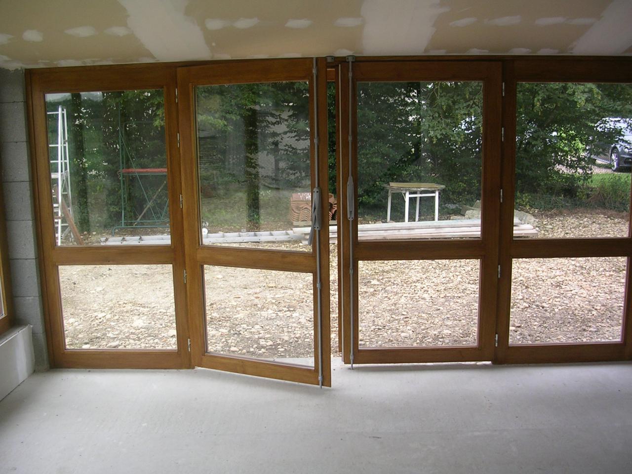 Réalisation de baies vitrées