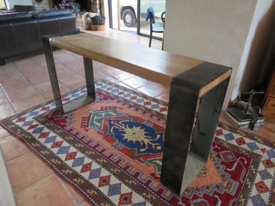 Table bois / fer