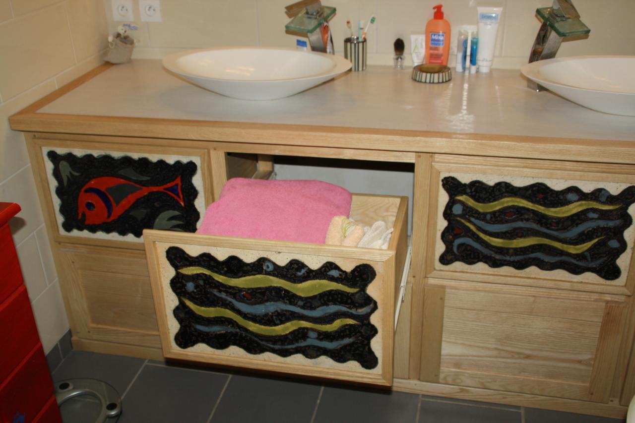 agencement d 39 une salle de bains. Black Bedroom Furniture Sets. Home Design Ideas